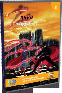 Zorro - Generatia Z, DVD volumul 3 (Ep. 1 Primar pentru o zi, Ep. 2 Erou cu jumatate de norma)