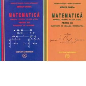 Matematica - manual pentru clasa a XII-a (TC+CD) - Set 2