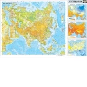 Harta Asia Duo 70x100 Cm