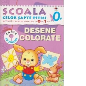 Scoala Celor 7 Pitici Desene Colorate
