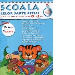 Pachet Scoala Celor Sapte Pitici 0 3 Ani 9 Carti 1 Gratis