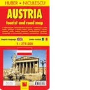 Austria Harta Turistica Si Rutiera Huber Niculescu