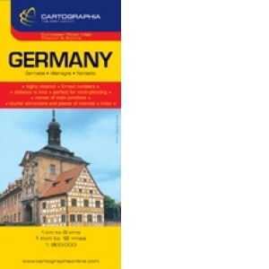 Harta Rutiera Germania