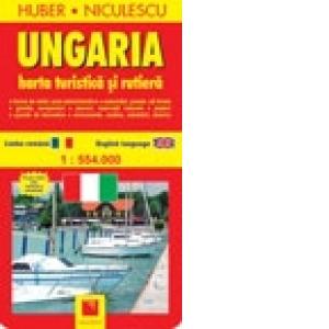 Ungaria Harta Turistica Si Rutiera Huber Niculescu