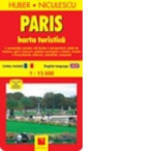 Paris Harta Turistica Huber Niculescu