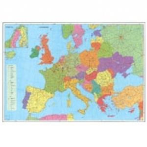 Europa Harta Rutiera Harta Contur 140 X 100 Cm