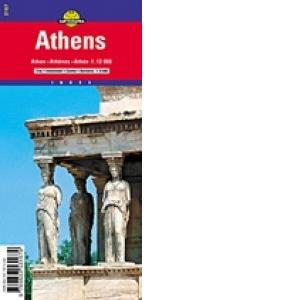 Harta Rutiera Atena 1 12 000